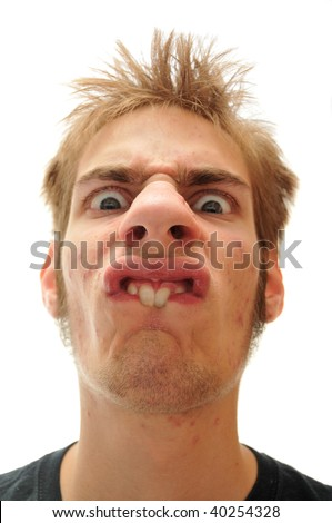 ab0a6bdcf9 Buck Toothed Man Making Very Odd Stock Photo (Edit Now) 40254328 ...