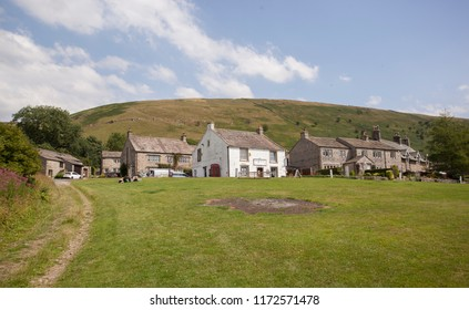 Buckden,Yorkshire/England - 27th July 2018 : The village of Buckden in the Yorkshire Dales,England on a hot summers day.