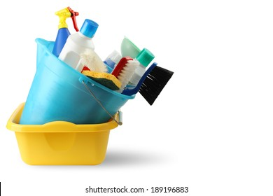 Bucket and cleaning 3