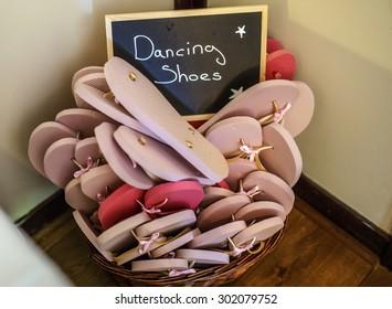 Bucket of Dancing Shoes