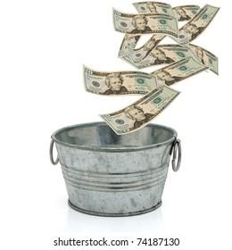 Bucket of money, Having a lot of money