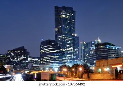 Buckhead is the uptown district of Atlanta, Georgia, USA.