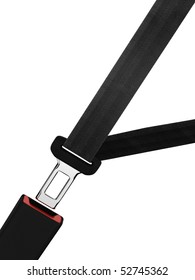 buckle up, isolated on a white background