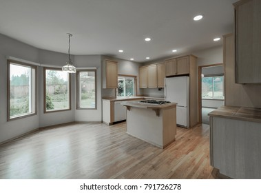 Buckley, Washington / United States - November 30, 2017: Kitchen interior
