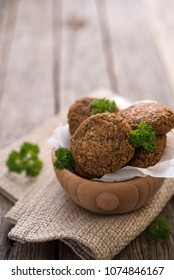 Buckweat patties with parsley