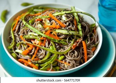 Buckwheat Noodle Salad