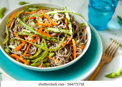 Buckwheat Noodle Salad