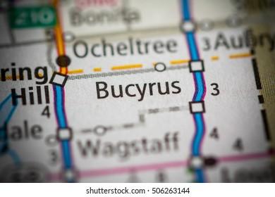 Bucyrus. Kansas. USA.
