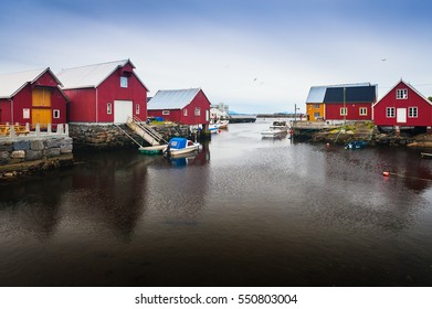 Bud Village fishermen. The west coast of the country. Norway