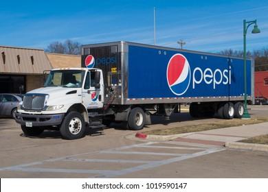 BUDA, TEXAS - JANUARY 4 2018: Pepsi is a brand known worldwide