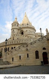 Budapest, the building of the Fishermen's Bastion