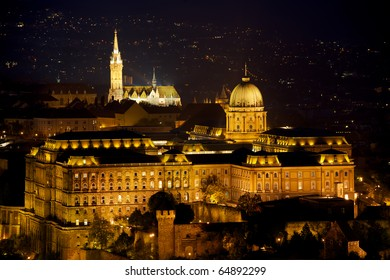 Budapest by night / Buda Castle