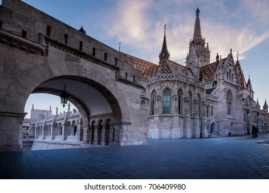 Budapest, capital of Hungary, Fishermen's Bastion and Matthias Church