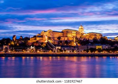 Budapest City Bluehour