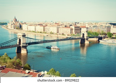 Budapest cityscape in Hungary Europe.