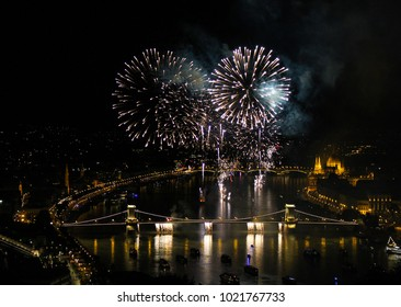 Budapest fireworks on the 20th of August