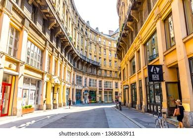 Budapest, Hungary - 18, July 2017 - Streets of Budapest