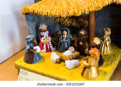BUDAPEST, HUNGARY. 23 JUNE, 2017: The Marzipan Museum in the City of San Andr in Hungary was created by the Hungarian chef by confectioner Karolyi Sabo in 1994.