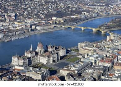 Budapest, Hungary Aerial (JB)
