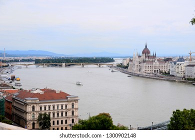 Budapest, Hungary - AUGUST 13, 2017: City panorama