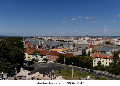 Budapest, Hungary - AUGUST 14, 2017: City panorama
