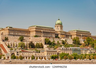 Budapest, Hungary - August 18 2018: panorama of the city of Budapest in Hungary