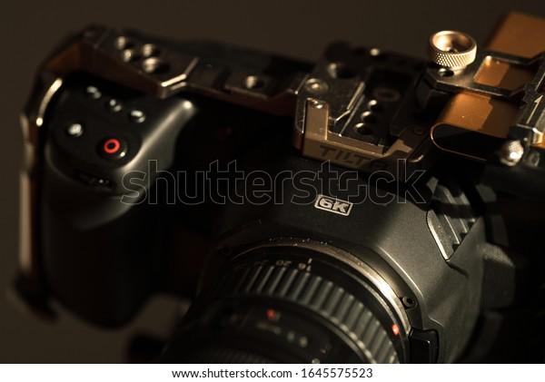 Budapest Hungary February 15 2020 Blackmagic Stock Photo Edit Now 1645575523