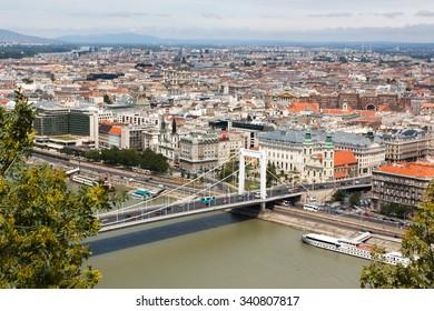 BUDAPEST, HUNGARY - JULY 21, 2012: Cityscape of Budapest