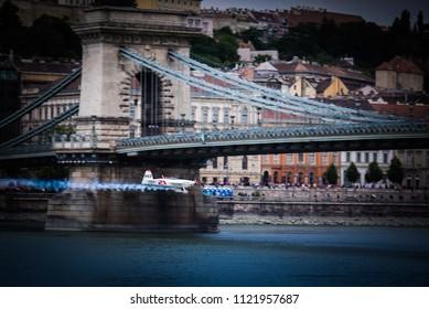 Budapest, Hungary, June 23. 2018: Red bull air race, Budapest