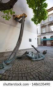 Budapest, Hungary, May 31, 2019. Carl Lutz Memorial