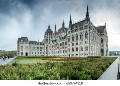 Budapest, Hungary - The Parliament from the Kossuth Square