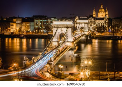 Budapest, Hungary - The popular cityscape panorama for tourist in the world