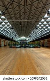 Budapest Hungary-Apr. 26, 2018: Interior of the building Balna