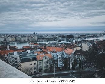 Budapest landscape view