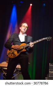 BUDAPEST - MAY 22: Joe Bonamassa performs at Millenaris Teatrum stage May 22, 2009 in Budapest, Hungary.