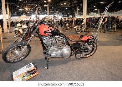 Budapest Motorcycle Festival 2017 at February 25, 2017 in Budapest, Hungary.