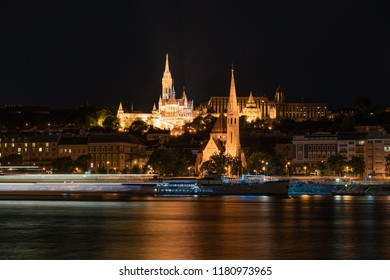 Budapest at night, one of the most beautiful cities of Europe