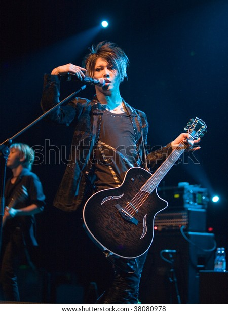 Budapest October 01 Japanese Singer Guitarist Stock Photo Edit Now