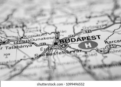 Budapest on the map