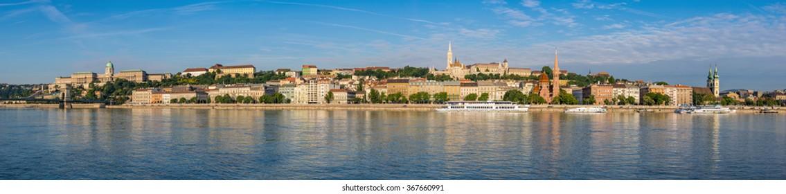 Budapest panorama city skyline, Budapest, Hungary