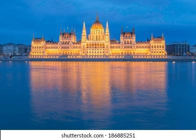 Budapest Parliament. Budapest, Hungary