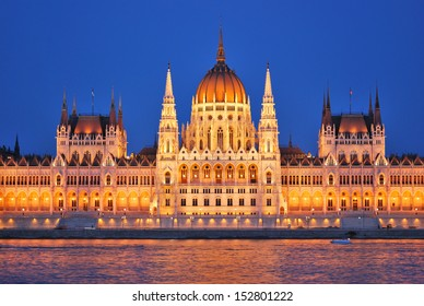 Budapest Parliament, one of the most beautiful buildings in Europe