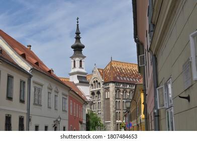Budapest Sidestreet near the Castle