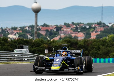 Budapest/Hungary - 2019-08-02 - #1 Louis Deletraz (CHE, Carlin, Dallara F2/18) during practice ahead of qualifying for the FIA Formula 2 race 1 at the Hungaroring