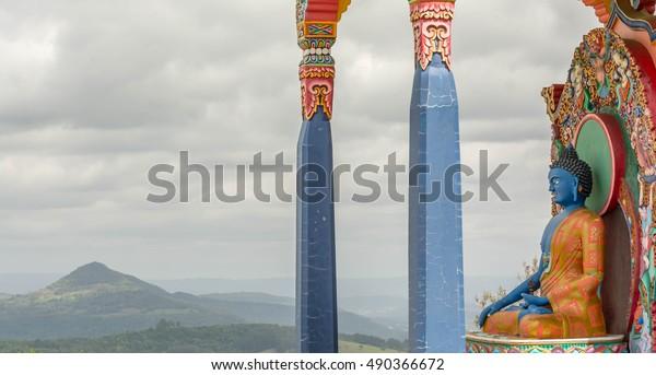 Buddha Akshobhya Stock Photo (Edit Now) 490366672