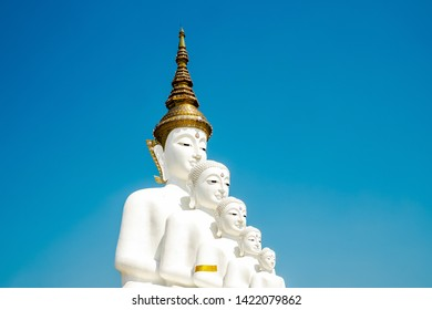 Buddha architecture at Phetchabun Thailand.Wat Phra That Pha Son Kaew temple.