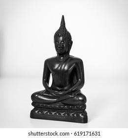 Buddha black&white
