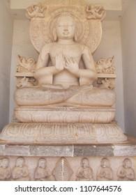 The Buddha in Dhauli Temple near Bhubaneswar, The history of Samrat Ashoka
