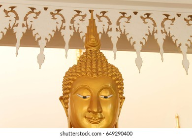buddha face gold