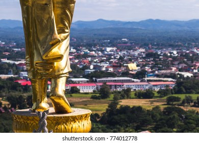 Buddha feets at nan